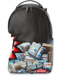 Sprayground Money Bite Dlx Backpack - Zwart