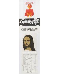 Off-White c/o Virgil Abloh Stickers - Oranje