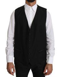 Dolce & Gabbana - Waistcoat Formal Gilet Vest - Lyst