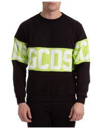 Gcds Sweatshirt Band Logo - Noir