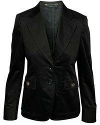 Gucci Tweedehands Blazer - Zwart