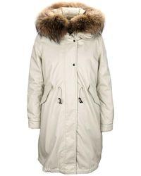 Woolrich Down Jacket - Naturel