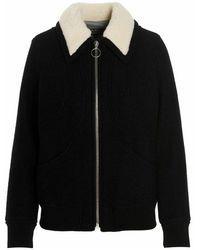 A.P.C. Outerwear jacket - Negro
