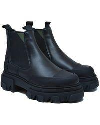 Saks Potts Chelsea Boots - Nero