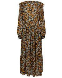 summum woman Dress - Oranje