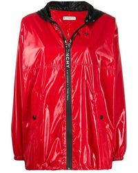 Givenchy Windjas Met Capuchon - Rood