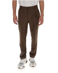 Etro - Mid-rise tailored trousers - Lyst