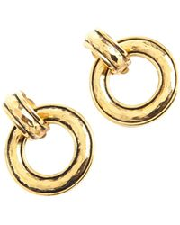 Chanel Vintage Hoop Earrings - Bruin
