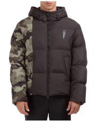 Neil Barrett Men's Outerwear Jacket Blouson - Zwart