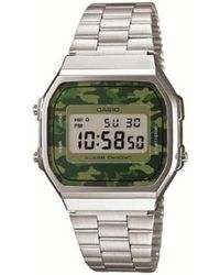 G-Shock Watch Ur - A168wec-3 - Groen