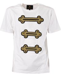 Lords & Fools T-shirt H Applications - Wit