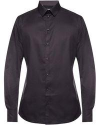 Dolce & Gabbana Overhemd Van Het Embleem - Zwart