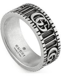 Gucci Ring Mod. Marmont - Grijs