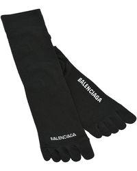 Balenciaga Five-toes Socks - Zwart
