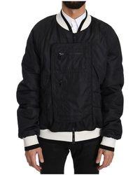 Dolce & Gabbana Anorak Jacket - Zwart