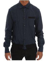 John Galliano - Casual Cotton Stretch Long Sleeve Shirt - Lyst