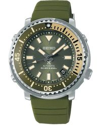 Seiko Prospex Watch - Vert