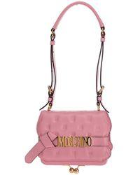 Moschino Shoulder Bag - Roze