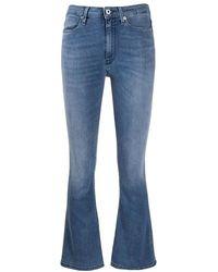 Dondup Amanda Trompet Jeans - Blauw