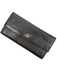 Dior Pre-owned Continental Bifold Wallet - Bruin