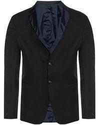 Emporio Armani Omkeerbaar Blazer - Zwart