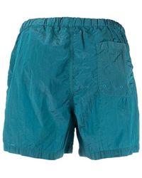 Stone Island - Shorts Azul - Lyst