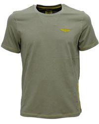 Aeronautica Militare Ts1819 t-shirt elasticizzata - Verde