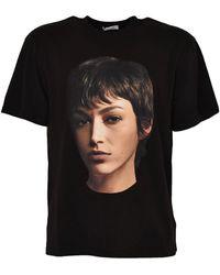 ih nom uh nit Short Sleeve T-shirt Dali Mask - Zwart
