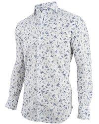 Cavallaro - Overhemd Print Palma - Lyst