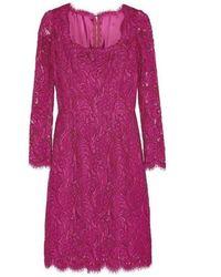 Dolce & Gabbana - Guipure Floral Lace Dress - Lyst