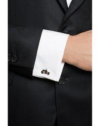 Paul Smith Car-shaped cufflinks Gris