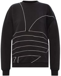adidas Originals Logo Sweatshirt - Zwart