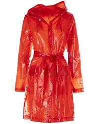 Rains Coat - Rood