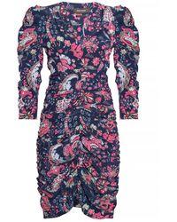 Isabel Marant Silk Dress - Blauw