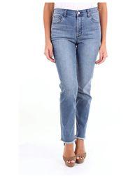 J Brand Dark Jeans - Blauw