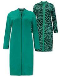 Lizzy & Coco Biba Reversible Zip Dres - Groen