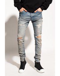 Amiri Distressed jeans Azul