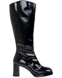 Miista Eirlys platform boots - Noir