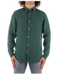 Tommy Hilfiger Mw0Mw17646 classic shirt - Verde