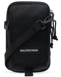 Balenciaga Explorer Schoudertas - Zwart
