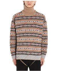 Y. Project Mpull38s17y04camel sweater - Marrone
