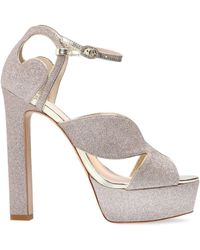 Sophia Webster Rita Platform Sandals - Geel