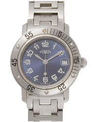 Hermès Clipper Diver Watch Metal Stainless Steel - Grigio