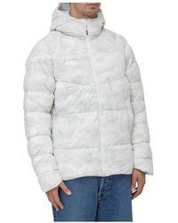 Mammut Insulated Hooded Jacket - Blanc