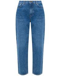 Samsøe & Samsøe Loose-fit Jeans - Blauw