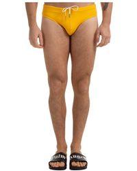 DSquared² Brief Swimsuit - Geel