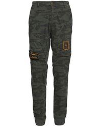 Aeronautica Militare Camouflage Anti-g Trousers - Groen
