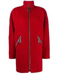 Moschino Coat - Rood