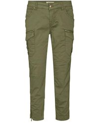 Mos Mosh Camille Cargo Pants138850 - Groen