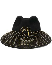 Maison Michel Hats - Zwart